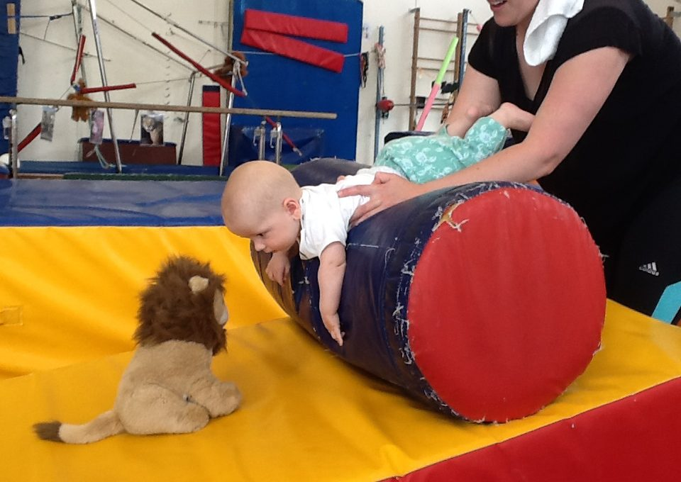 tummy time - posterior chain strength
